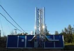 Газовая котельная в Рузском районе Московской области