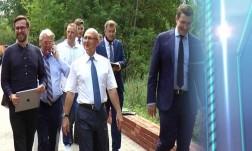 Сергей Морозов посетил строительство новой котельной