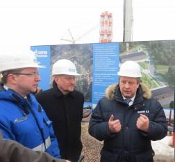 Депутаты посетили строительство котельной
