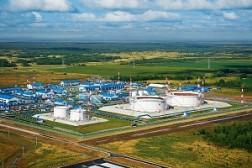 Замена топливных емкостей на НПС «Тучево»